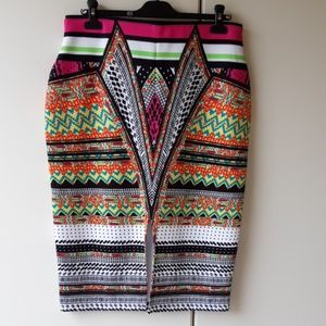 Bisou Bisou pencil skirt size Large
